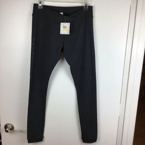 Puma | NWT Dark Grey Logo Leggings